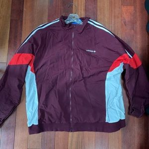 Adidas Windbreaker Track Jacket Men's XXL